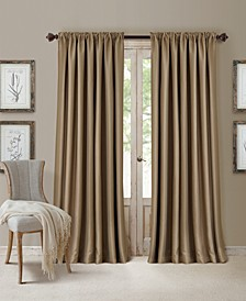 "All Seasons Faux Silk 52"" x 108"" Blackout Curtain Panel"