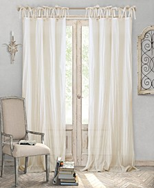 Jolie Crushed Sheer Window Panel Collection