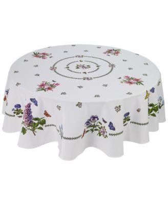 "Botanic Garden 70"" Round Tablecloth"