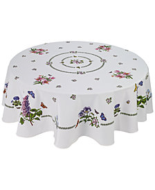 "Portmeirion Botanic Garden 70"" Round Tablecloth"