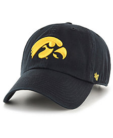 '47 Brand Toddlers' Iowa Hawkeyes CLEAN UP Cap
