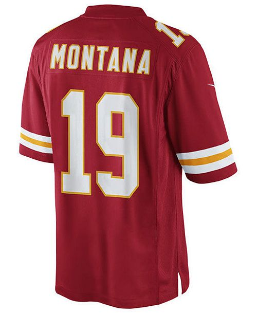 newest 28dfd 0642f Men's Joe Montana San Francisco 49ers Limited Retired Player Jersey