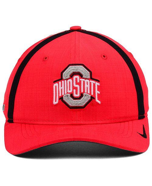394396e26db ... netherlands nike boys ohio state buckeyes aerobill sideline cap sports  fan shop by lids men macys