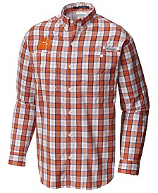 Columbia Men's Clemson Tigers Super Tamiami Long Sleeve Shirt