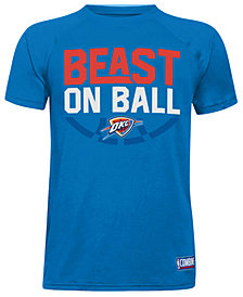 Under Armour Oklahoma City Thunder Combine Beast on Ball T-Shirt, Big Boys (8-20)