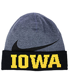 Nike Iowa Hawkeyes Training Beanie Knit Hat