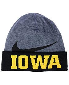 Nike Iowa Hawkeyes Training Beanie Knit Hat