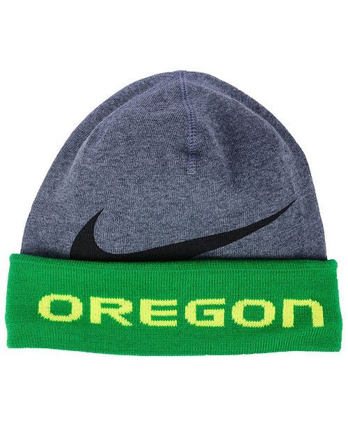 wholesale dealer 46c6d 28df1 ... Nike Oregon Ducks Training Beanie Knit Hat ...