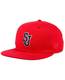 Top of the World St Johns Red Storm League Snapback Cap