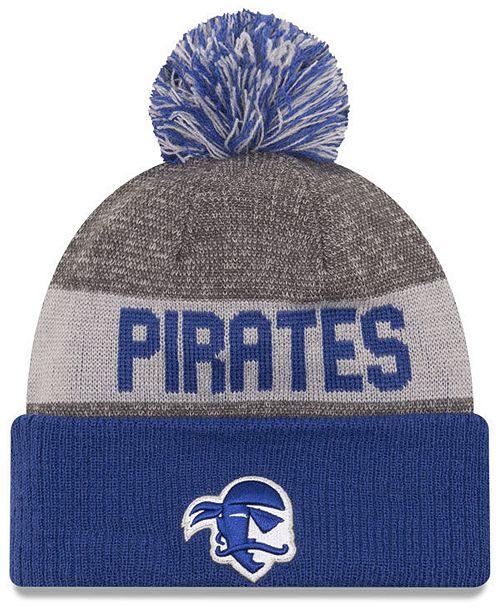 New Era Seton Hall Pirates Sport Knit Hat - Sports Fan Shop By Lids ... db019f184030