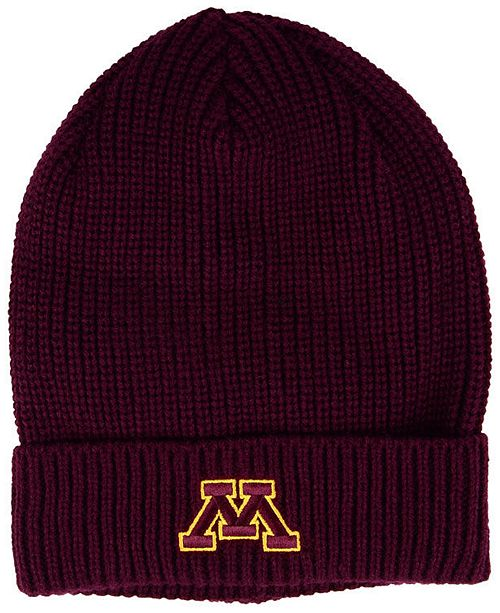 on sale 312c2 3aee8 Minnesota Golden Gophers Cuffed Knit Hat