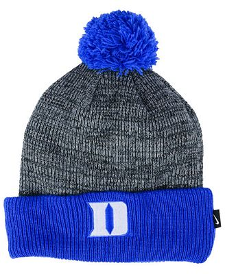 Nike Duke Blue Devils Heather Pom Knit Hat