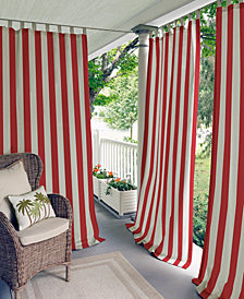 "Elrene Highland Stripe Indoor/Outdoor 50"" x 95"" Panel"