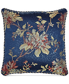 "CLOSEOUT! Croscill Calice 18"" Square Decorative Pillow"