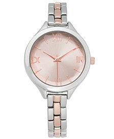 Charter Club Women's Two-Tone Bracelet Watch 33mm, Created for Macy's
