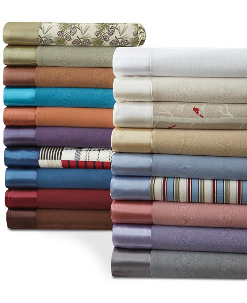 Shavel Micro Flannel®  All Seasons Year Round Sheet Twin Size Blanket