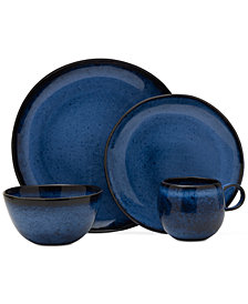 Mikasa Shea Blue Dinnerware Collection