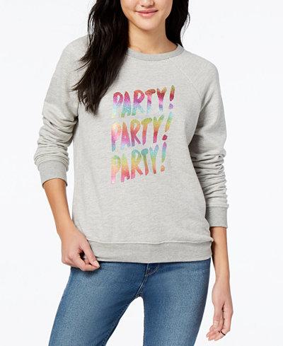ban.do Party Party Cotton Graphic-Print Sweatshirt