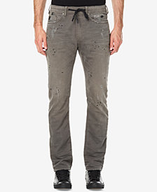 Buffalo David Bitton Men's Zoltan-X Stretch Distressed Jogger Pants