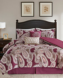 Harbor House Padma Paisley 5-Pc. Full/Queen Duvet Cover Set
