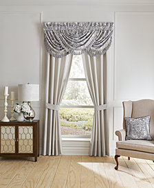 Croscill Seren Waterfall Swag Window Valance