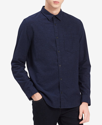 Calvin Klein Jeans Men's Relaxed Fit Flannel Shirt