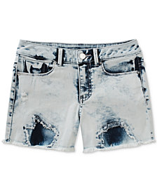 Calvin Klein Extreme Destroy Denim Shorts, Big Girls