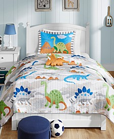 Little Foot 4-Pc. Full/Queen Coverlet Set