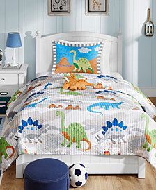 Mi Zone Kids Little Foot 3-Pc. Twin Coverlet Set