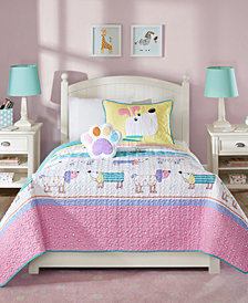 Mi Zone Kids Milo 4-Pc. Full/Queen Coverlet Set