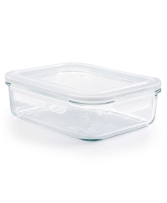 8-Cup Rectangle Glass Storage Container, Created for Macy's