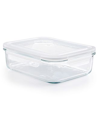 Martha Stewart Collection 8 Cup Rectangle Glass Storage Container