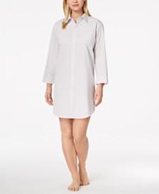 Lauren Ralph Lauren Roll Cuff Sleepshirt