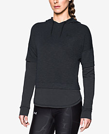 Under Armour Terry Layered-Look Hoodie