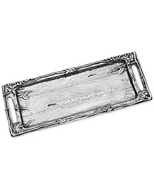 Wilton Armetale Wild Wood Long Serving Tray
