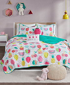 Urban Habitat Kids Frutti Tutti 4-Pc. Twin/Twin XL Coverlet Set