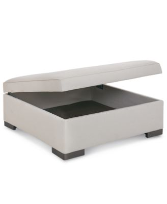 Furniture Astra Fabric Storage Ottoman, Created For Macyu0027s   Furniture    Macyu0027s