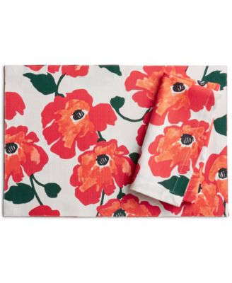 CLOSEOUT! Painted Poppies Placemat