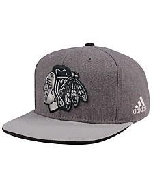 adidas Chicago Blackhawks Two Tone Snapback Cap