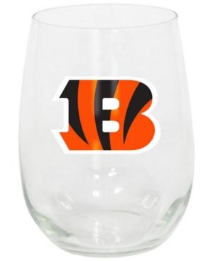 Cincinnati Bengals Stemless Wine Glass