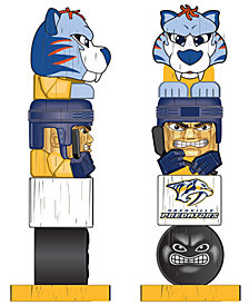 Evergreen Enterprises Nashville Predators Tiki Totem