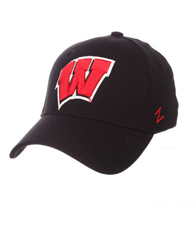 Zephyr Wisconsin Badgers Finisher Stretch Cap