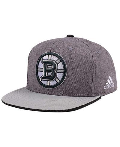 adidas Boston Bruins Two Tone Snapback Cap