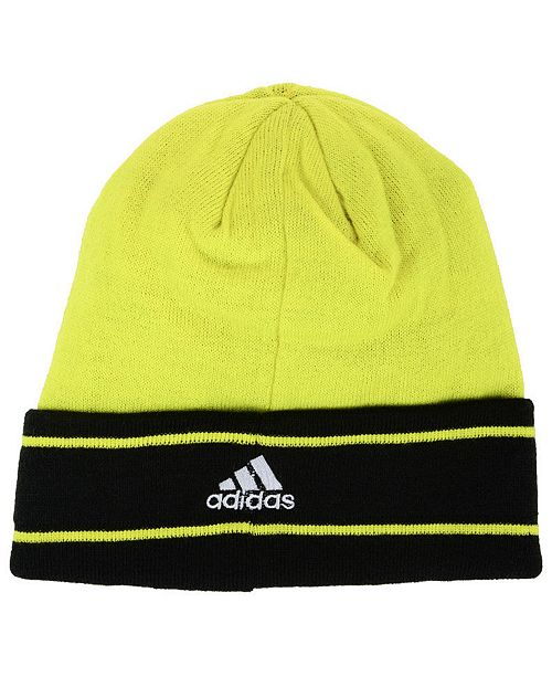 brand new d12cb 685d8 ... coupon for adidas columbus crew sc cuff knit sports fan shop by lids men  617f8 85a3e