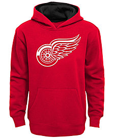 Outerstuff Detroit Red Wings Prime Hoodie, Big Boys (8-20)