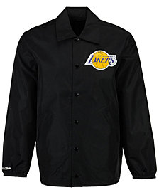 Mitchell & Ness Men's Los Angeles Lakers Coaches Jacket