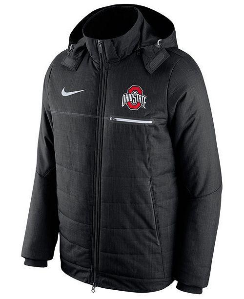 huge selection of 262e2 3c400 ... Nike Men s Ohio State Buckeyes Flash Sideline Jacket ...