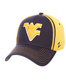Zephyr West Virginia Mountaineers Pattern Pipe Stretch Cap