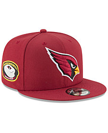 New Era Arizona Cardinals Anniversary Patch 9FIFTY Snapback Cap