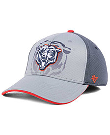 '47 Brand Chicago Bears Greyscale Contender Flex Cap
